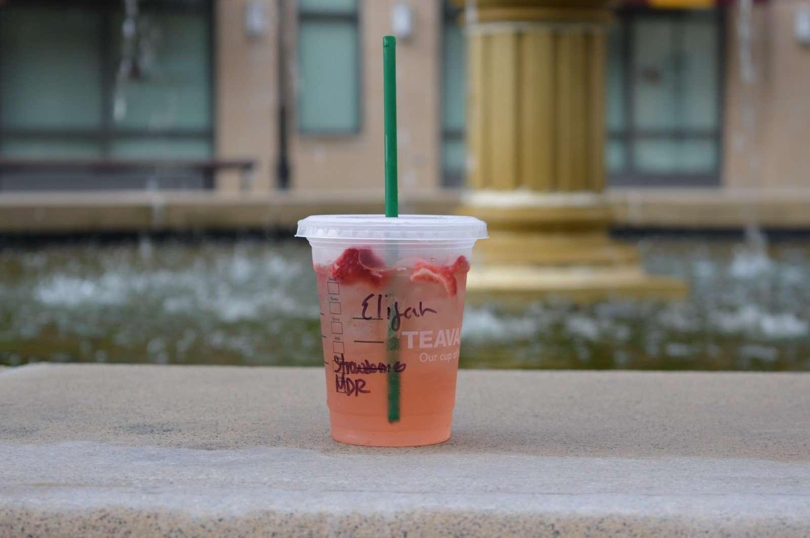 name on starbucks cup