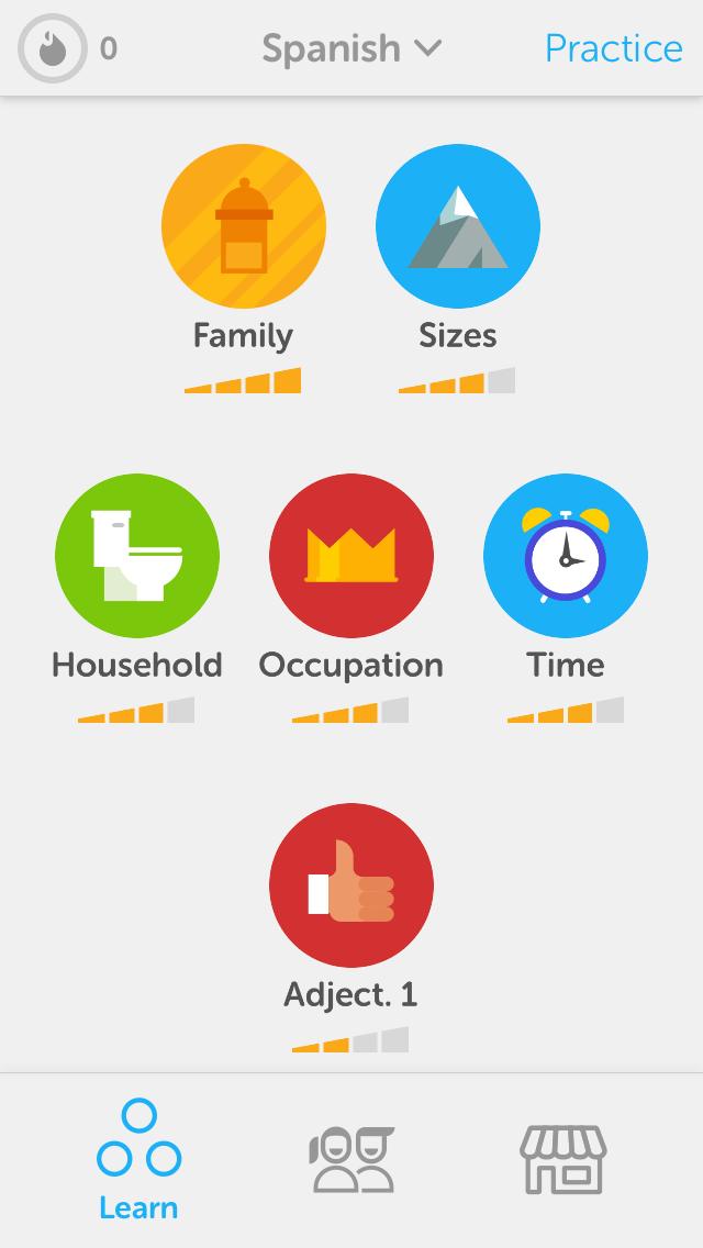 Goal Gradient Duolingo