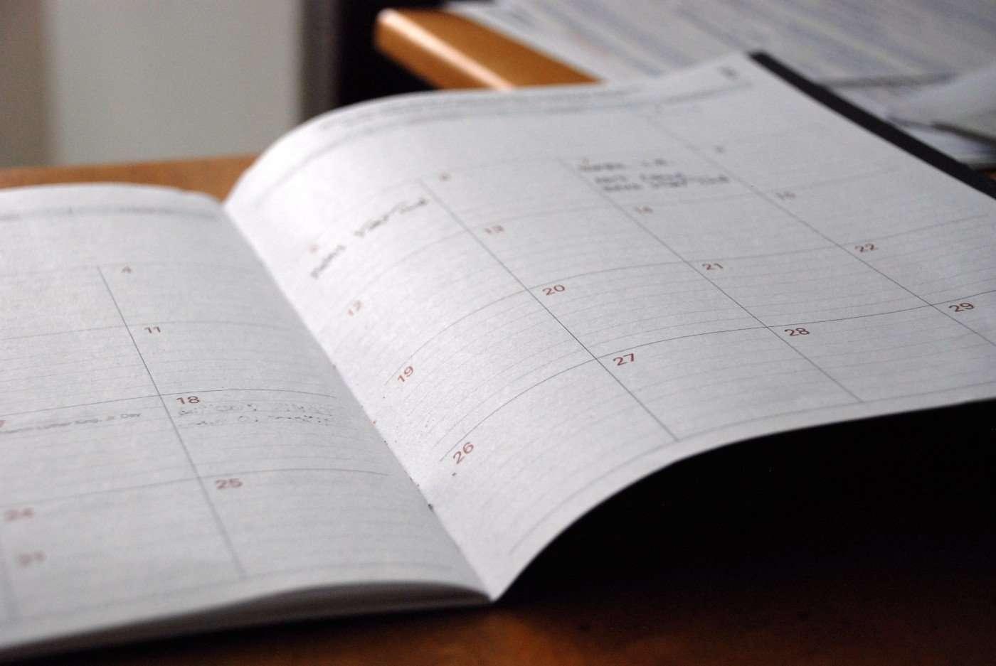 Fresh Start Effect Calendar