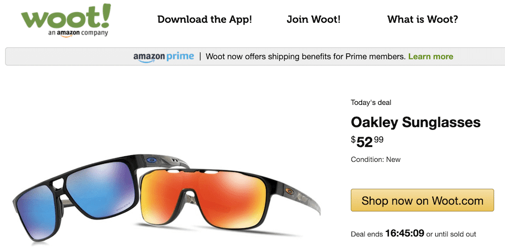 Woot Amazon Deal of the Day
