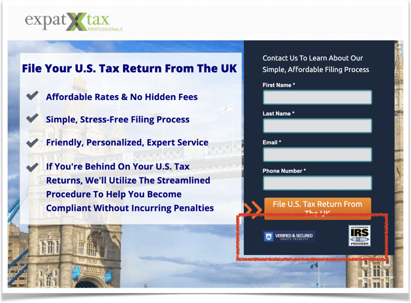 expat tax authority