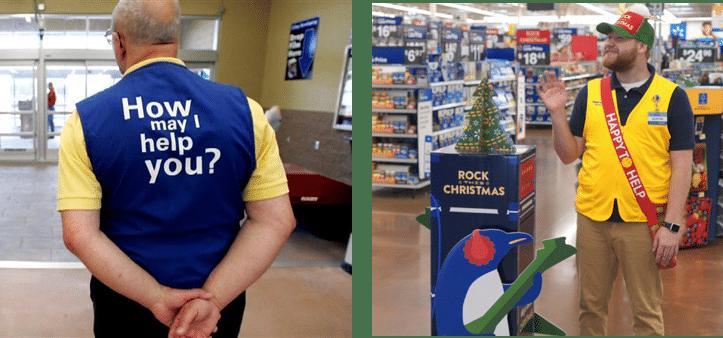 Walmart Peak End Greeters